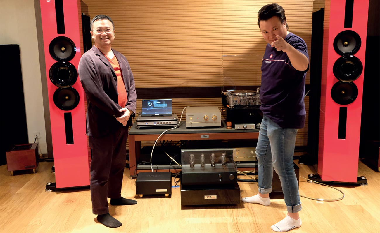 CEO/Founder Chris Leung (above left) and Managing Director JLam (above right)